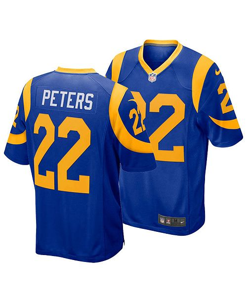 5356d691 Nike Men's Marcus Peters Los Angeles Rams Game Jersey & Reviews ...