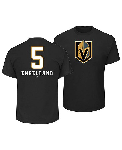 Majestic Men's Deryk Engelland Vegas Golden Knights Underdog Player T-Shirt