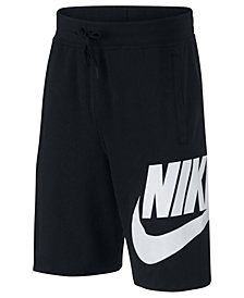 Nike Big Boys Sportswear Cotton Shorts