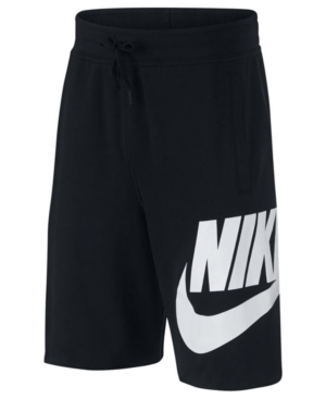 Nike Big Boys Sportswear Cotton Shorts