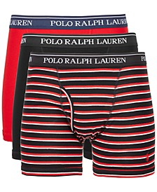 폴로 랄프로렌 속옷 하의 3세트 Polo Ralph Lauren Mens 3-Pk Classic Cotton Boxer Briefs