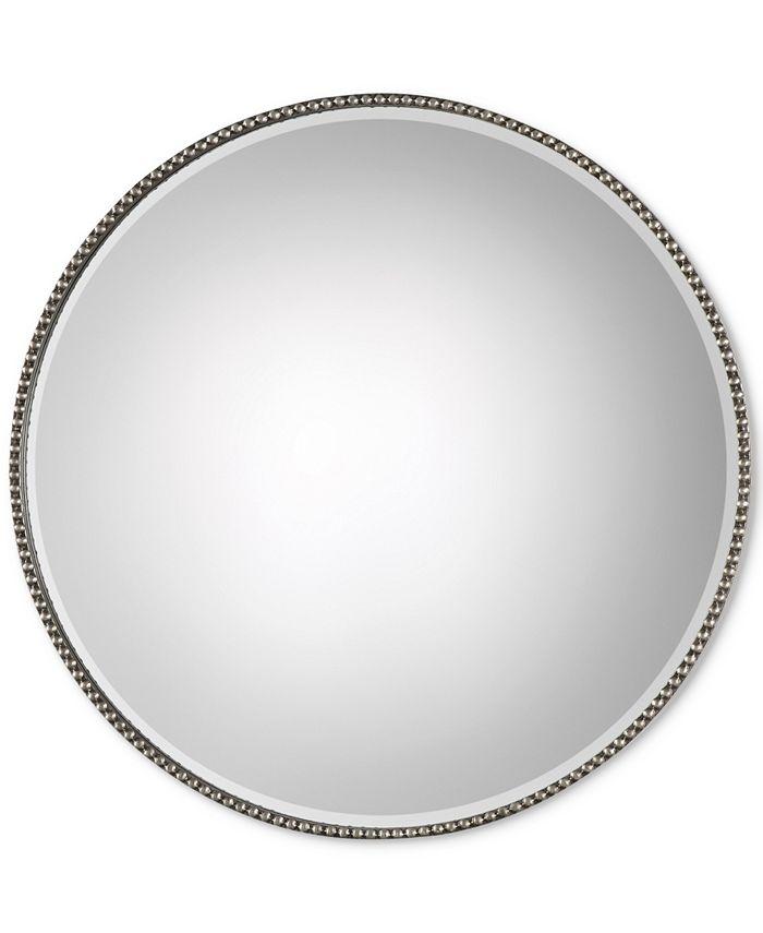 Uttermost - Stefania Beaded Round Mirror