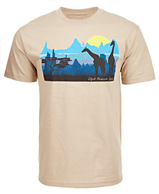 LRG Men's Astro Sunset Graphic-Print T-Shirt