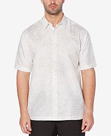 Cubavera Men's Paisley-Print Short-Sleeve Shirt