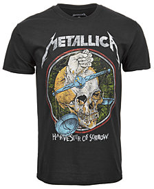 Merch Traffic Men's Metallica Harvest Graphic T-Shirt