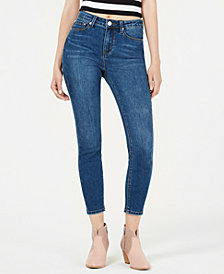 Indigo Rein Juniors' High Rise Skinny Ankle Jeans