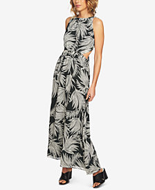 1.STATE Tie-Back Maxi Dress