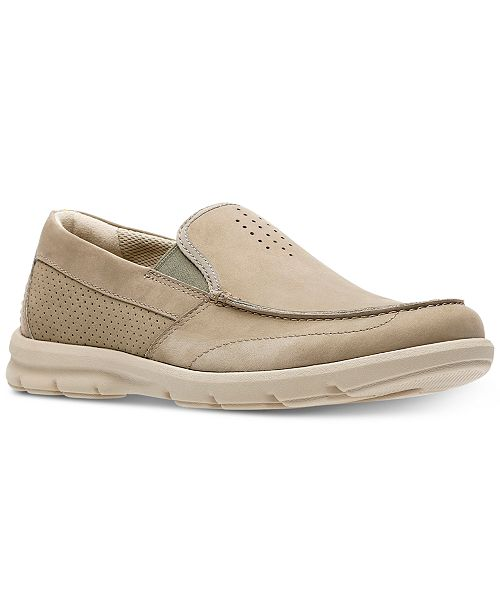 Clarks Men's Jarwin Race Casual Slip-Ons