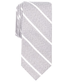 Perry Ellis Men's Ohley Stripe Slim Tie