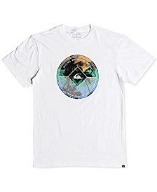 Quiksilver Men's Gradient Palm Tree T-Shirt