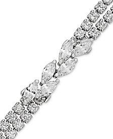 Arabella Swarovski Zirconia Link Bracelet in Sterling Silver
