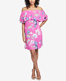 RACHEL Rachel Roy Off-The-Shoulder Dress, Created for Macy's