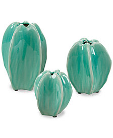 Madison Park Loras 3-Pc. Ceramic Vase Set