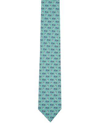 Nautica Men's Summer Sunglass & Flip Flop Neat Tie