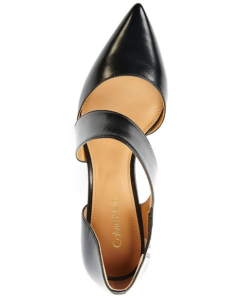 e7dd3ddeb55 Calvin Klein Women s Gella Dress Pumps   Reviews - Pumps - Shoes ...