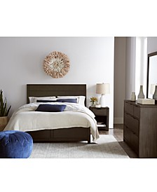 Tribeca Brown Storage Platform Bedroom Collection, Created for Macy's