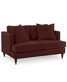 "Jennova 59"" Fabric Loveseat - Custom Colors, Created For Macy's"