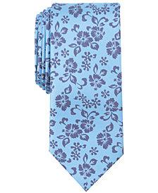 Tallia Men's Thayar Floral Slim Silk Tie