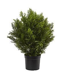 Nearly Natural 2' Cedar Indoor/Outdoor Artificial Bush