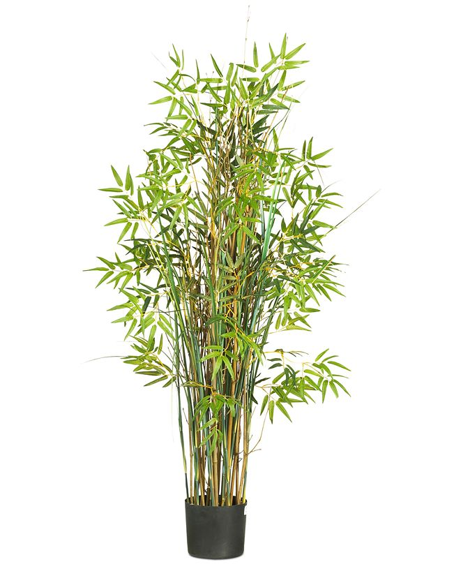 Nearly Natural 5' Bamboo & Grass Artificial Plant