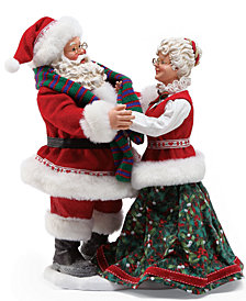 Department 56 Possible Dreams Stay Warm Mr. & Mrs. Claus Figurine