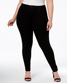 I.N.C. Petite Plus Size Skinny Jeans, Created for Macy's