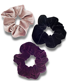 I.N.C. 3-Pc. Set Velvet Hair Scrunchies, Created for Macy's