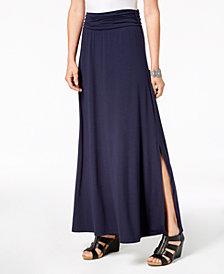 Style & Co Comfort-Waist Maxi Skirt, Created for Macy's