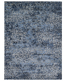"Macy's Fine Rug Gallery Fusion Light Blue/Grey 9' 2"" x 12' 7"" Area Rug"