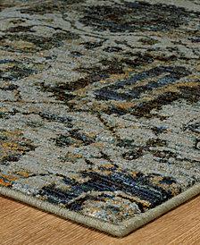 "Macy's Fine Rug Gallery Journey Amizade Blue 10' x 13' 2"" Area Rug"