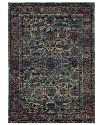 "Journey Pena Blue 10' x 13' 2"" Area Rug"