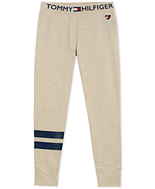 Tommy Hilfiger Big Girls Football Stripe Sweatpants