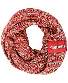 Forever Collectibles San Francisco 49ers Peak Infinity Scarf