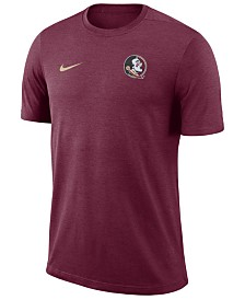 Nike Men's Florida State Seminoles Dri-Fit Coaches T-Shirt