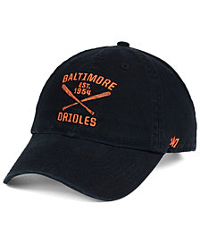 '47 Brand Baltimore Orioles Axis CLEAN UP Cap