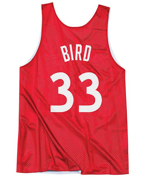 a83e0dd41 ... Mitchell   Ness Men s Larry Bird NBA All Star Reversible Tank ...
