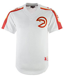 Mitchell & Ness Men's Atlanta Hawks Winning Team Mesh V-Neck Jersey