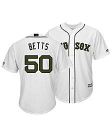 Majestic Men's Mookie Betts Boston Red Sox USMC Cool Base Jersey