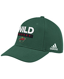 adidas Minnesota Wild Stanley Cup Playoff Patch Cap