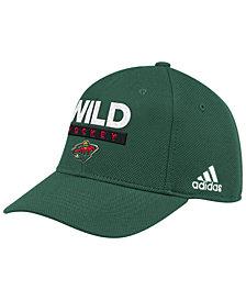 adidas Minnesota Wild Stanley Cup Playoff Patch Cap