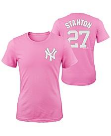 Giancarlo Stanton New York Yankees Player T-Shirt, Girls (4-16)
