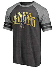 Majestic Men's Vegas Golden Knights Golden Raglan T-Shirt