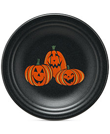 Fiesta Pumpkin Lunch Plate