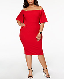Soprano Off-The-Shoulder Bodycon Dress