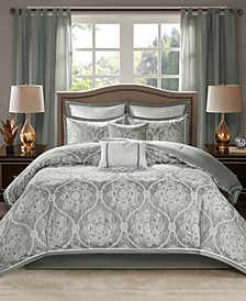 Dora 8-Pc. California King Comforter Set