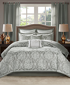 Madison Park Dora 8-Pc. King Comforter Set