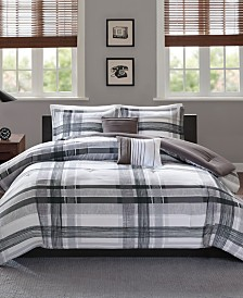 Intelligent Design Rudy 5-Pc. Plaid Bedding Sets