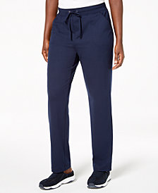 Karen Scott Pull-On Drawstring Pants, Created for Macy's