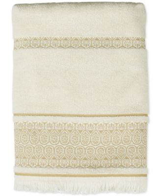 Elephant Walk Cotton Jacquard Bath Towel