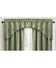 "Croscill Adrianna 54"" x 84"" Floral-Jacquard Window Valance"